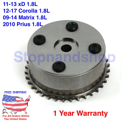 NEW ENGINE VARIABLE VALVE SPROCKET for TOYOTA COROLLA 09-16 MATRIX 09-14 L4 1.8L