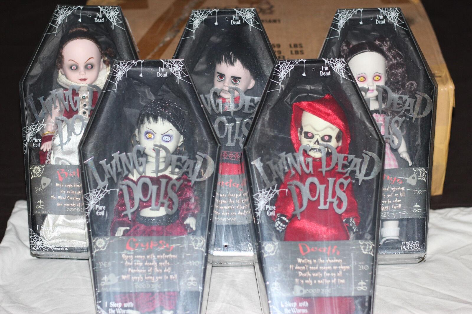 Living Dead Dolls Serie 15 Variante Set SEALED
