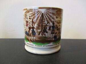 Circa-1880-Souvenir-Staffordshire-Childs-Mug-Mahattan-Coney-Island-New-York