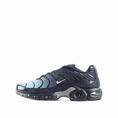 Nike Air Max Plus TN Tuned Men's Shoes in Blue Cap/Wolf Grey