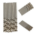 10PCS 2mm Micro HSS Twist Drilling Auger bit for Electrical Drill New
