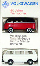 VW Bus T1 T3 - Set 1:87 - 40 Jahre - limitierte Sonderedition - NEU & OVP