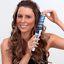 Professional-Conical-Ceramic-Hair-Curling-Wand-Salon-Curlers-Tong-Styler-UK-Z15 thumbnail 2