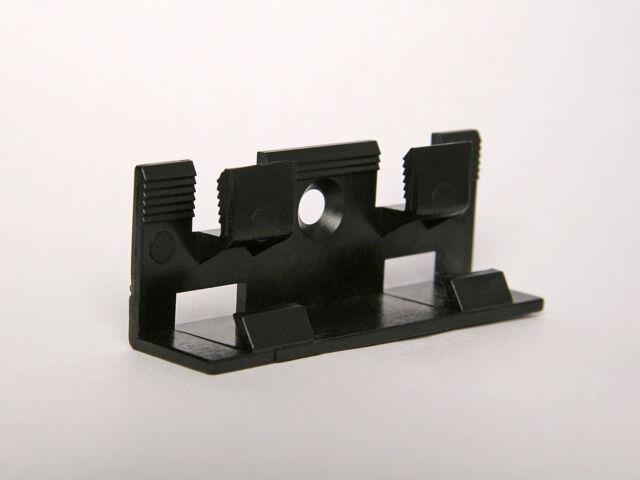 Befestigungsclips f/ür MDF-Sockelleisten mit 40mm und 60mm H/öhe
