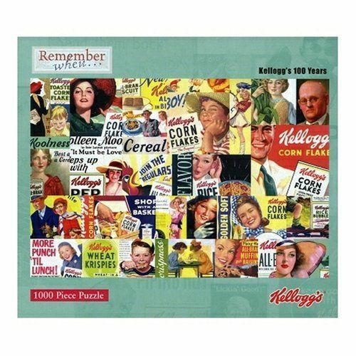 Remember When Kellogg's 100 years 1000 piece Classic Jigsaw Puzzle