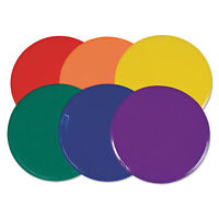 Champion Sports Extra Large Poly Marker Set 12 Diameter Assorted Colors 6 Spots on sale