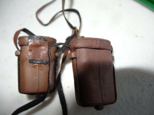 Details about  /1//6 Civil War Brown Binocular Pouch no Hinge /& Glasses Sideshow DID