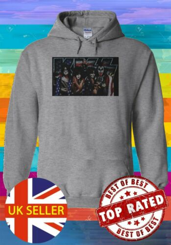 The Kiss American Rock Band Hoodie Sweatshirt Jumper Men Women Unisex 675