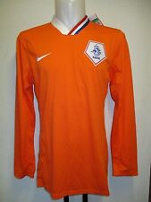 HOLLAND 2008/10 PLAYER ISSUE L/S  HOME SHIRT BY NIKE SIZE XXL BRAND NEW