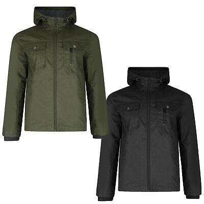 Clever Threadbare Mens Barcelona Designer Jacket New Premium Cotton Zip Up Hooded Coat Kataloge Werden Auf Anfrage Verschickt