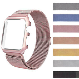 For-Apple-Watch-Series-1-amp-2-38-42mm-Milanese-Magnetic-SS-Steel-Wrist-Band-Strap