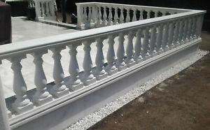 Balustraden-Hoehe-73-cm-Balustrade-Baluster-Marmor-Gelaender
