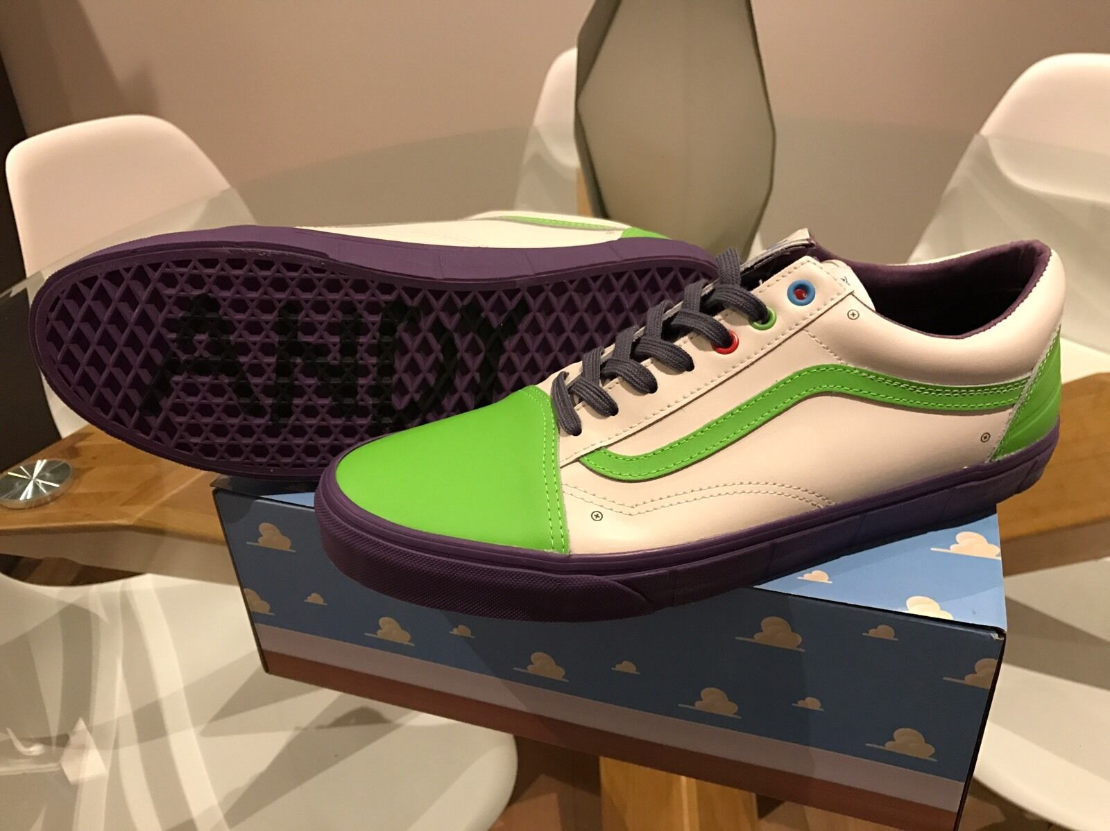 Vans X Toy Story Old Skool Buzz (Size  US 4.5) Limited Ed. now Sold Out