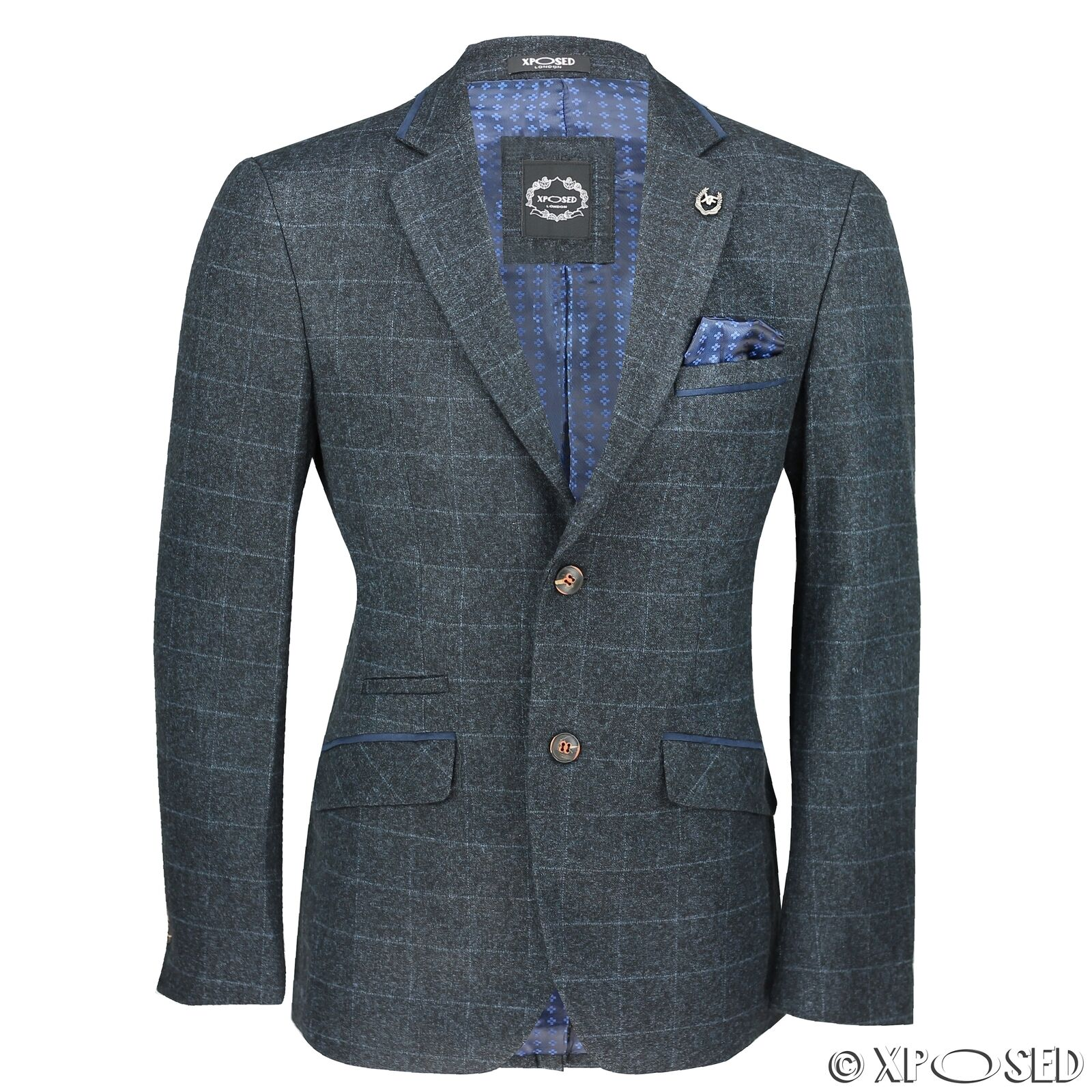 Blazer-Dark Blue