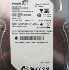 ST3500418AS 9SL142-042 FW:AP24  Apple#655-1564A 500gb Sata Hard drive