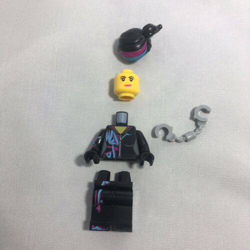 LEGO GENUINE MINI FIGURE Of LUCY LEGO MOVIE 2 WYLDSTYLE With Handcuffs