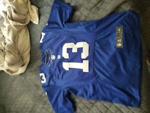 uk availability 6427d 52f26 Details about Odell Beckham JR New York Giants Authentic Nike Jersey  medium/40