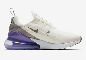 Details about Nike W Womens Air Max 270 Sail Lilac Gray White Pumice Purple GreyAH6789 107