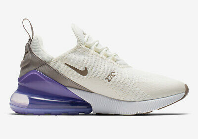 Nike W Womens Air Max 270 Sail Lilac Gray White Pumice Purple GreyAH6789 107 | eBay