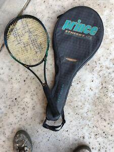Prince-Synergy-Lite-Liquid-Crystal-Polymer-Tennis-Racquet-4-5-8-Broken-String