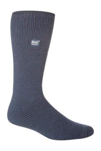 39-45 Eur Denim Blue Mens Original Thermal Heat Holder Socks size 6-11 Uk