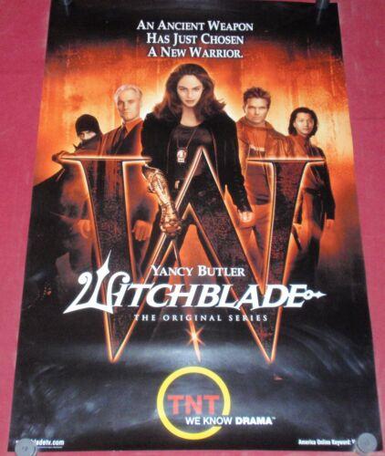 Witchblade Poster 25x38 S//S TV  Yancy Butler   David Chokachi   Anthony Cistaro