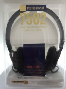 7ace44c6ef5 Image is loading Sony-MDR7502-Professional-Studio-Headphones-MDR-7502