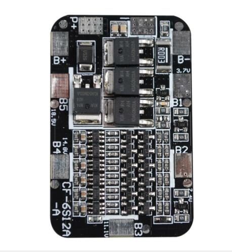6S 20A Li-ion Lithium 18650 Battery Protection Board 29.4V For Electric Drill