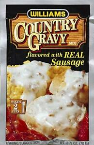 WILLIAMS-WILLIAMS-MIX-GRAVY-CNTRY-W-SAUSAGE-2-5-OZ-Pack-of-12