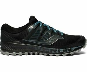 Saucony-Peregrine-Iso-Mens-Black-Grey-Wide-Trail-Running-Hiking-Shoes-S20484-1