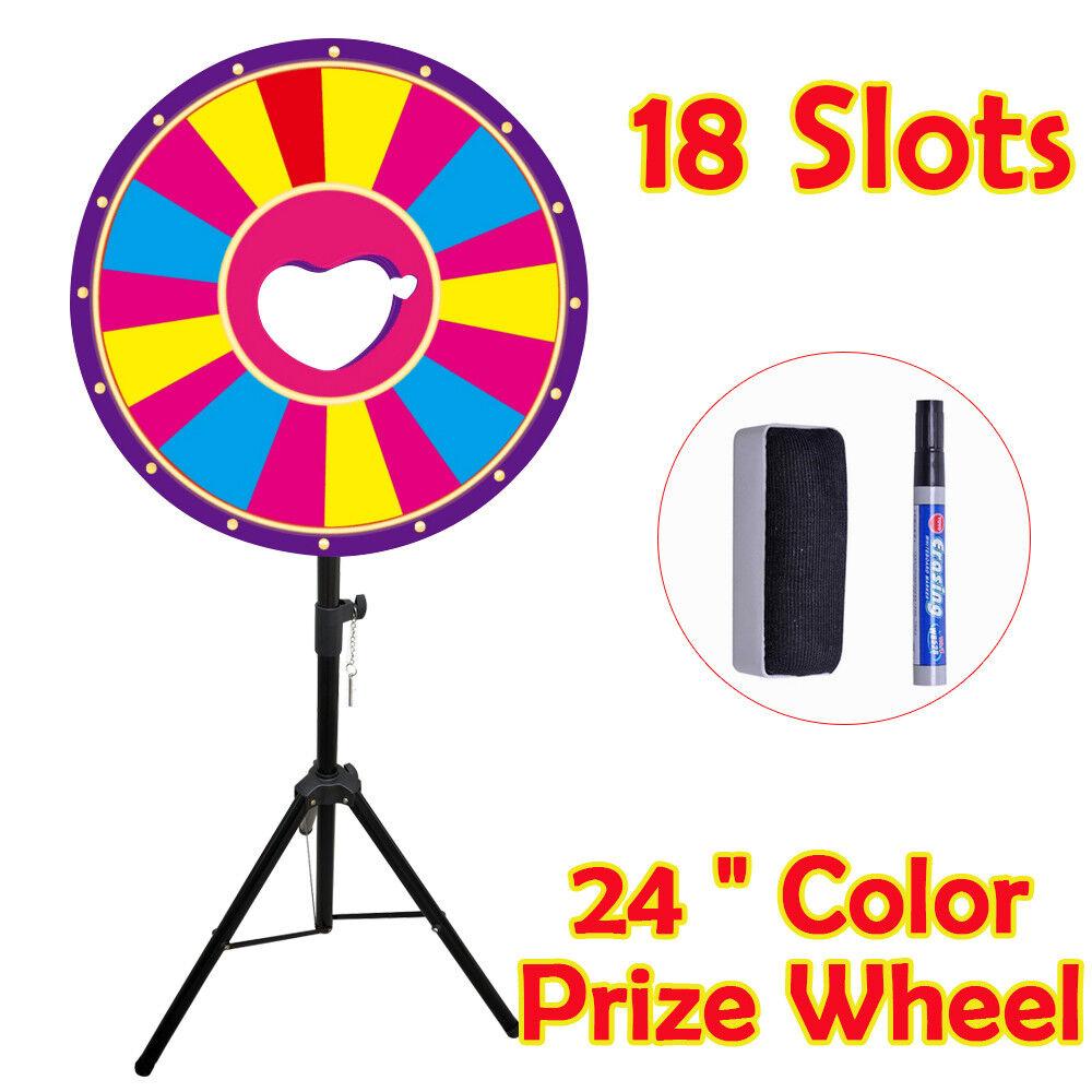 24  Prize Rad,12  18 Slot , mit höhenverstellbaren Stativ Bodenständer für Mall
