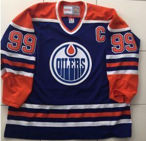 newest 5223e 0e0d3 Details zu Neu Wayne GRETZKY Edmonton Oilers NHL Jersey CCM Vintage  Eishockey Trikot