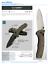 New-Benchmade-980-Turret-Knife-Satin-S30V-Blade-with-G10-Handle miniature 2