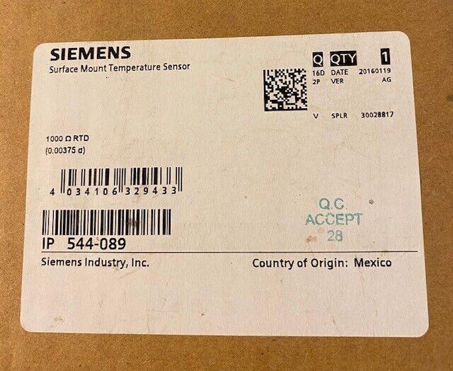 SIEMENS 544-089  Surface Mount Temperature Sensor