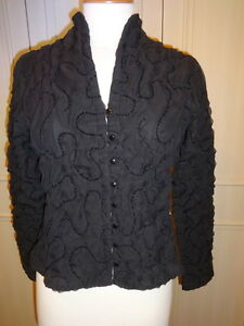 2 Taglia Uk Black Fontaine Jacket M 12 Anne 7RITxqt