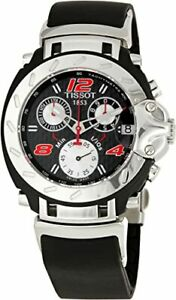 Tissot-Swiss-Made-T-Race-Nascar-Men-039-s-Chronograph-Rubber-Strap-Watch