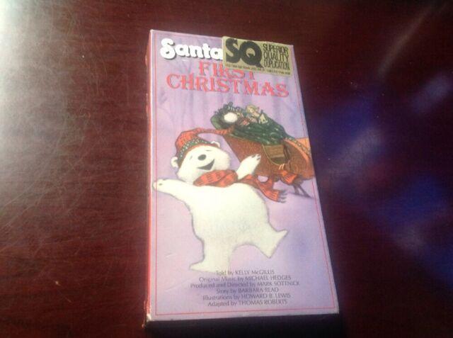 Santabear's First Christmas (VHS, 1991)