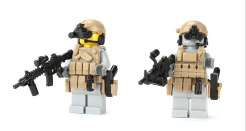 made with real LEGO® minifigure Ranger 2 Pack US Army Minifigure Soldiers SKU39
