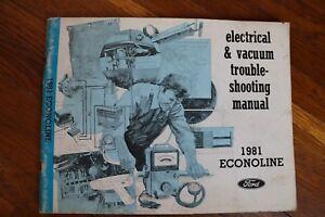 Superb 1981 Ford Econoline Van E 150 250 350 Wiring Diagram Electrical Wiring Digital Resources Instshebarightsorg