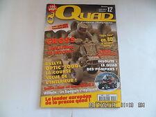 QUAD PASSION MAGAZINE N°12 06/2001 YAMAHA BREEZE E TON YUKAN RALLYE TUNISIE  H38
