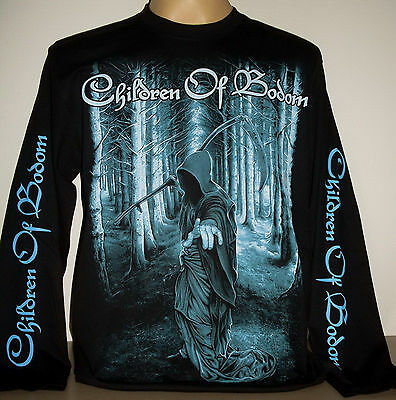 Children Of Bodom Reaper Forest long sleeve T-Shirt Size XL 2XL 3XL Metal Band
