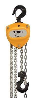 R&M RM2000 Manual Hand Chain Hoist 2 Ton Cap.10 ft NIB