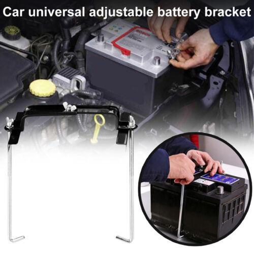 19CM Metal Adjustable Width Car Storage Battery Holder Battery Stabilizer Rack