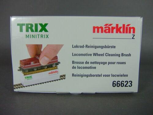 Märklin 66623 Spur z /& Spur N Reinigungsbürste für Räder /& Gleise Neu und OVP