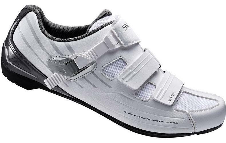 Shimano RP3 Mens Road Indoor Cycling shoes Comfortable Hook & Loop Straps