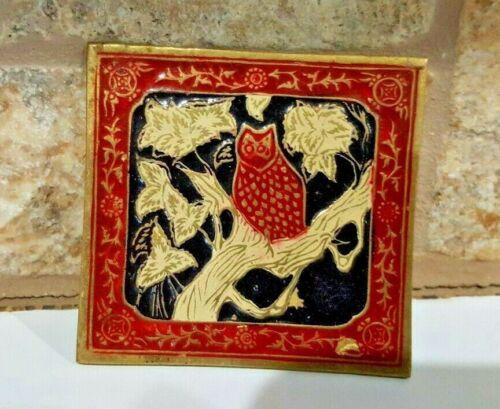 Vintage Women's Brass Golden Hands Lee Bernay Desi
