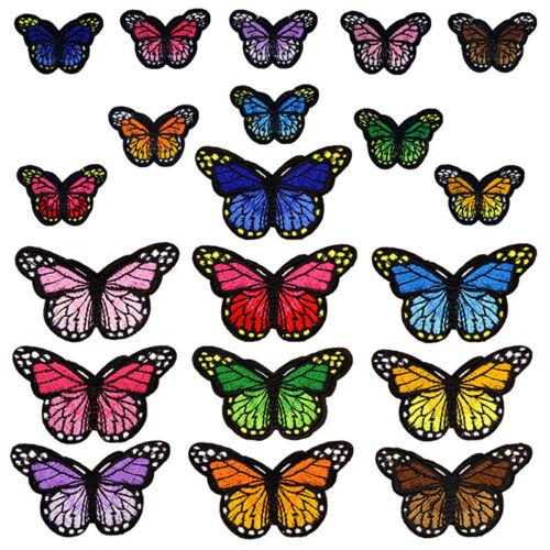 Schuhe Schmetterling Applikationen DIY Bestickt Kunsthandwerk Aufnäher