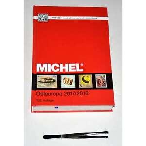 MICHEL-Katalog Europa 2017/18 Band 7 (EK7) Osteuropa plus Gratis Pinzette rund