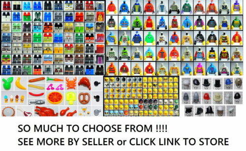 ☀️NEW LEGO Minifigure lot of 20 Different Heads Mini fig figure random Mix