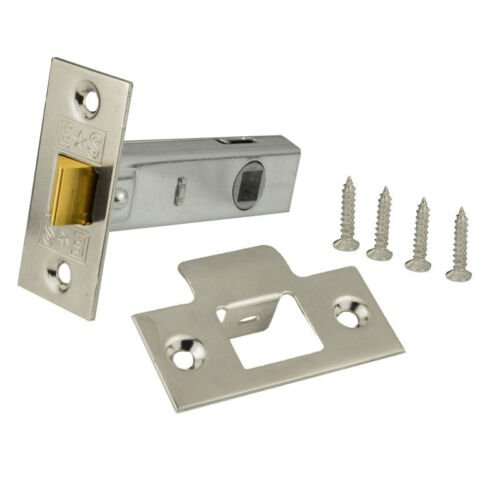 Arched Lever on Rose Door handle Pack of 4 Including Latches